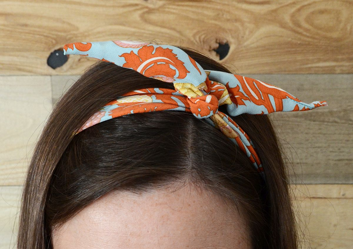 How to make a wired hair bow quick