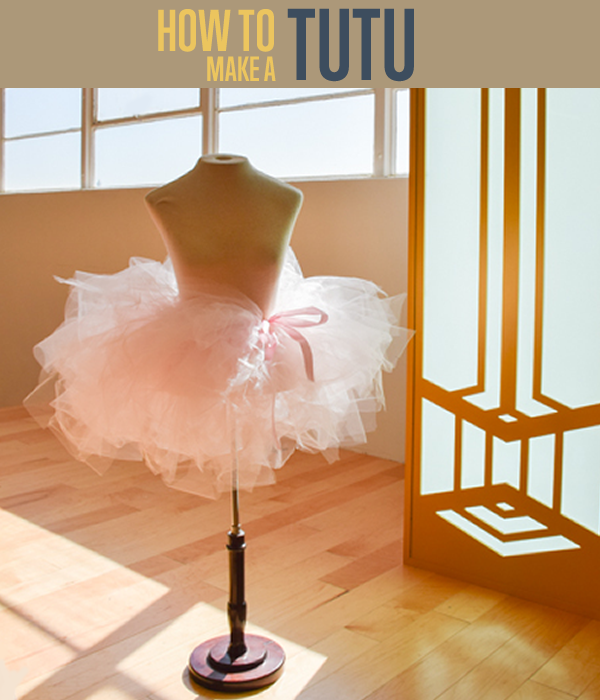 How to make a tutu title