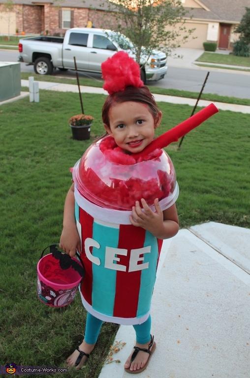 Icee diy costume