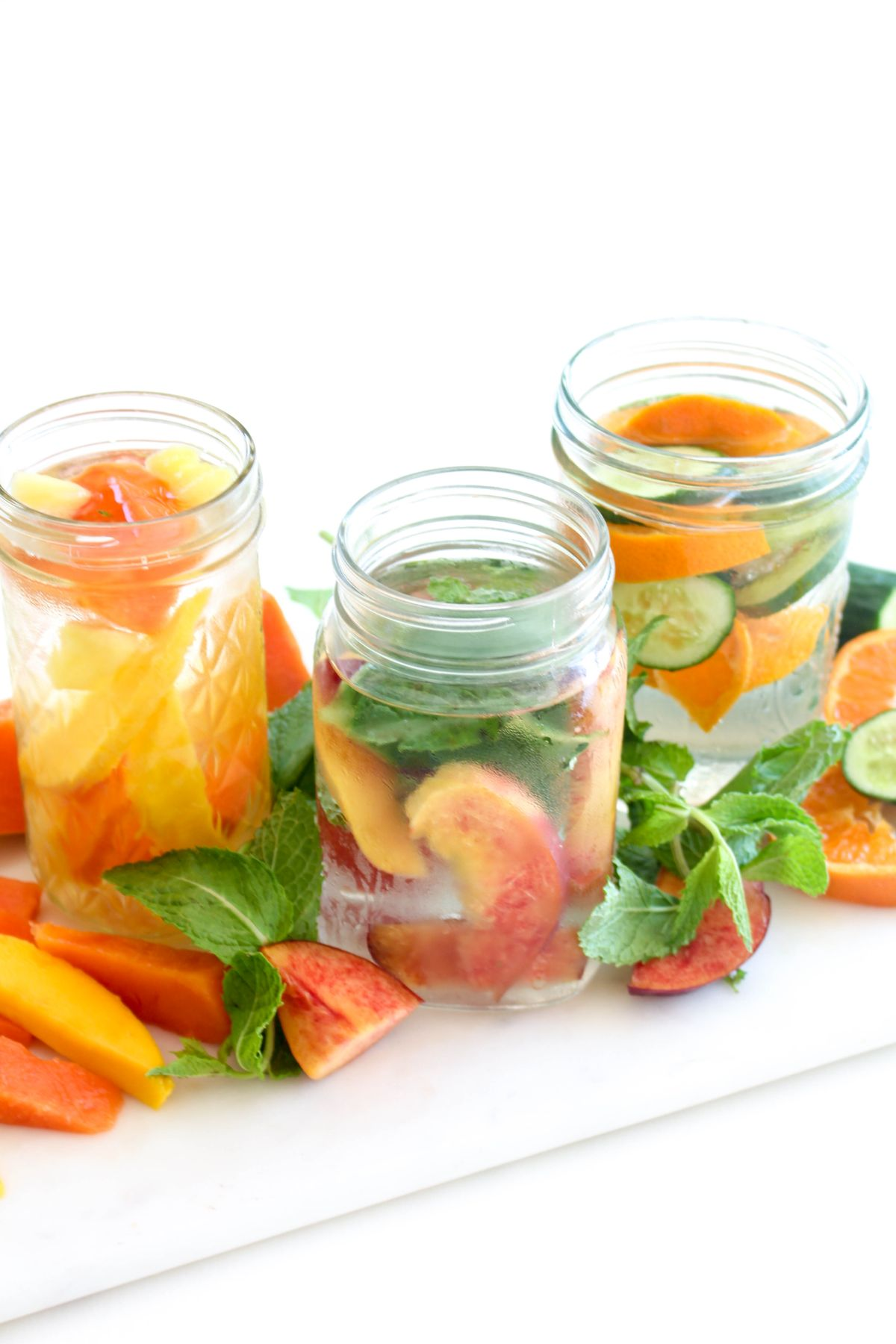 Infused water summer recipe