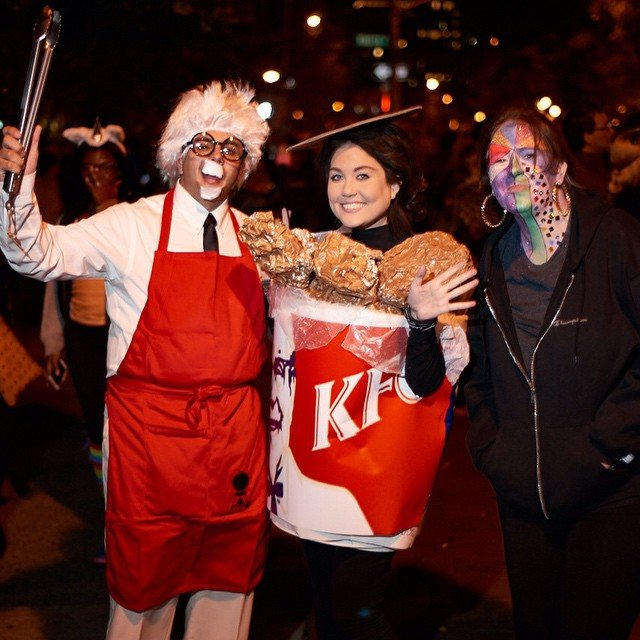 From bananas to tacos these 50 food costumes are easy to diy kfc diy costume solutioingenieria