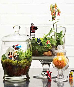 Lego terrarium