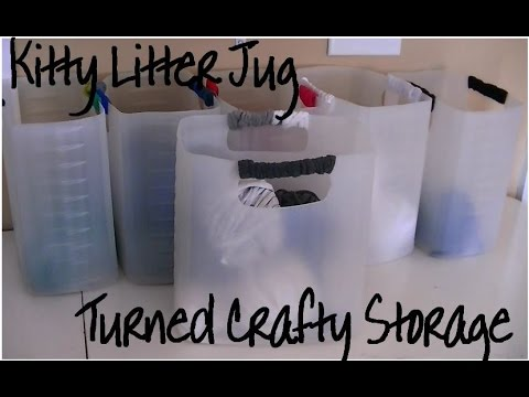 15 Neat Ways To Repurpose Kitty Litter Containers