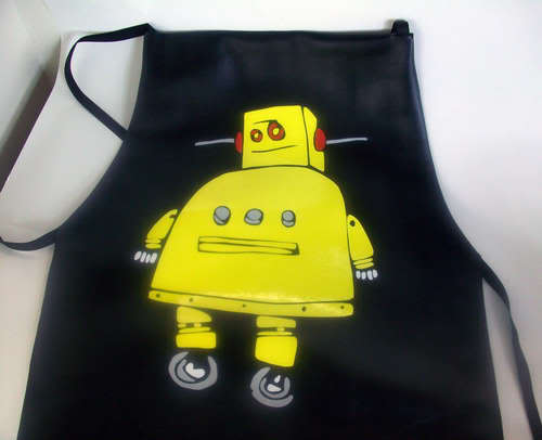 No sew duct tape apron