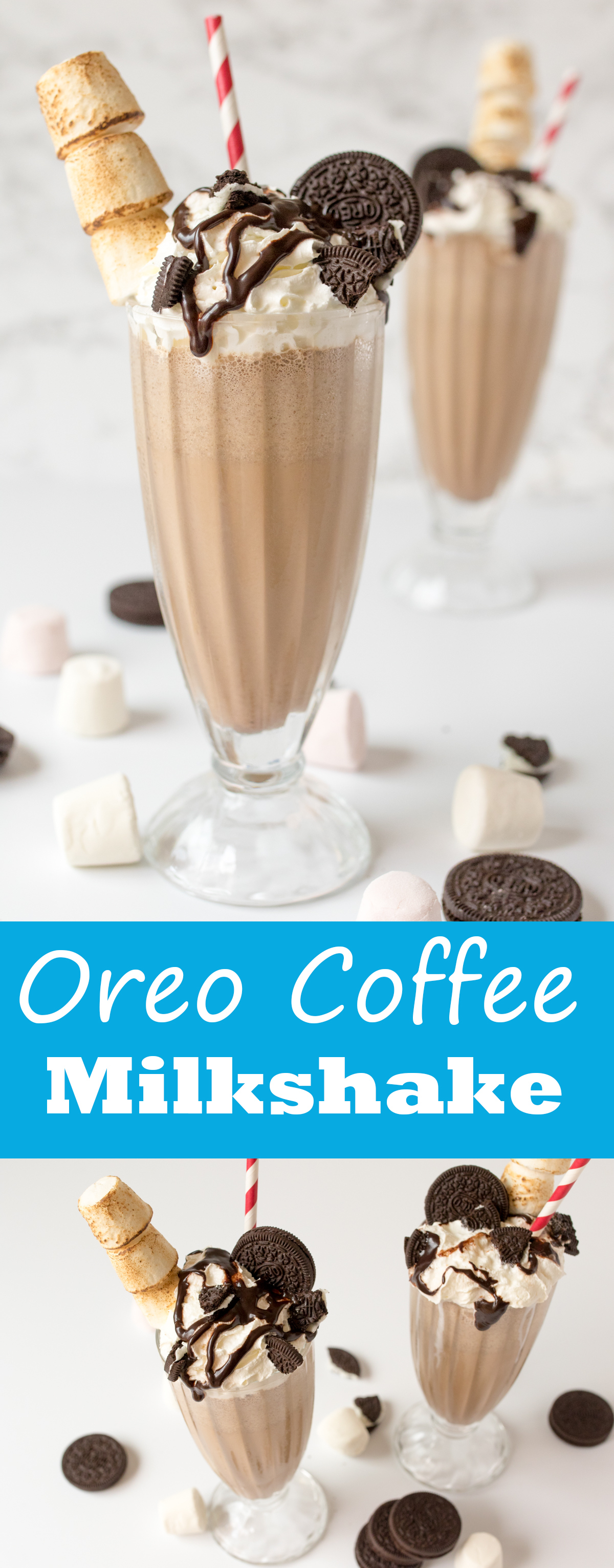 Oreo coffee milkshake pinterest