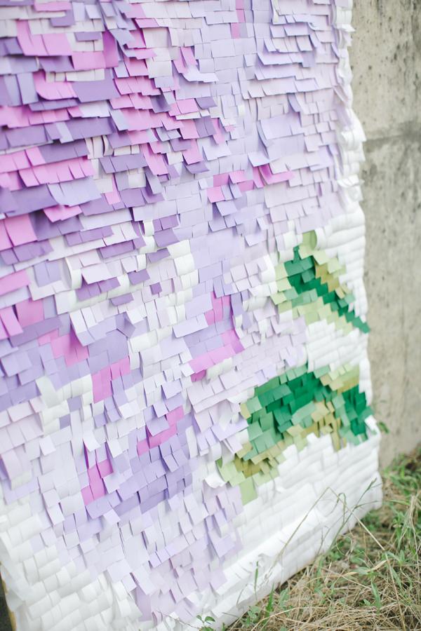 Creative diy photo backdrops pixelated paper backdrop solutioingenieria Images