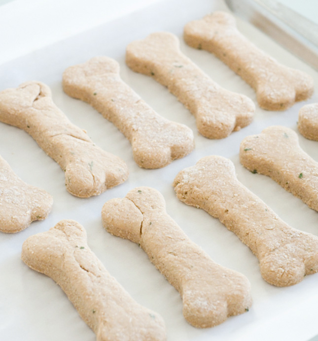 How To Make Natural Wheat Free Dog Biscuits