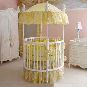 Gorgeous DIY Baby Cradles for Handy Parents & Baby canopy crib