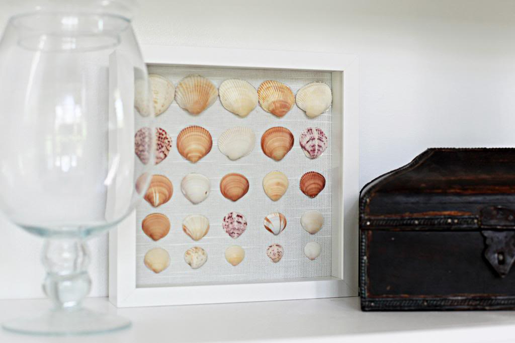 How To Decorate Shadow Box Picture Frame