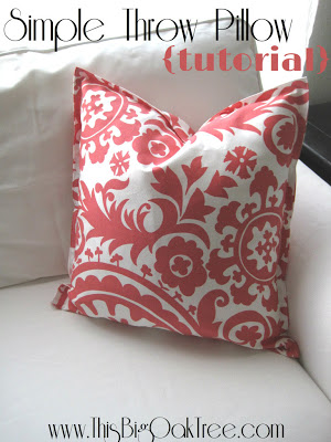 Simple graphic throw pillows