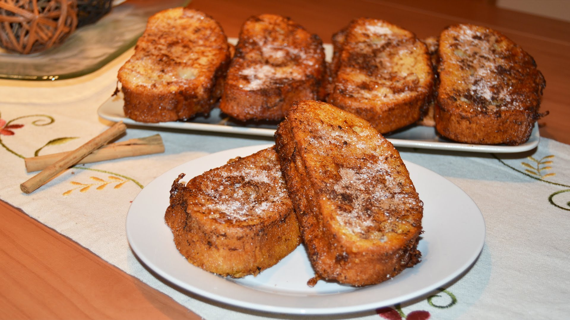 Spanish bread pudding