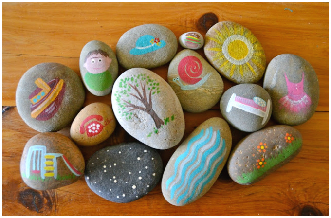 Story stones ideas painted story stones