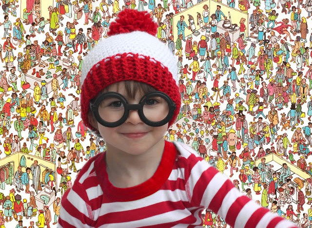 Whereswaldo diy costume