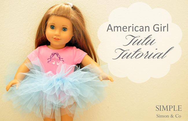 American girl tutu diy