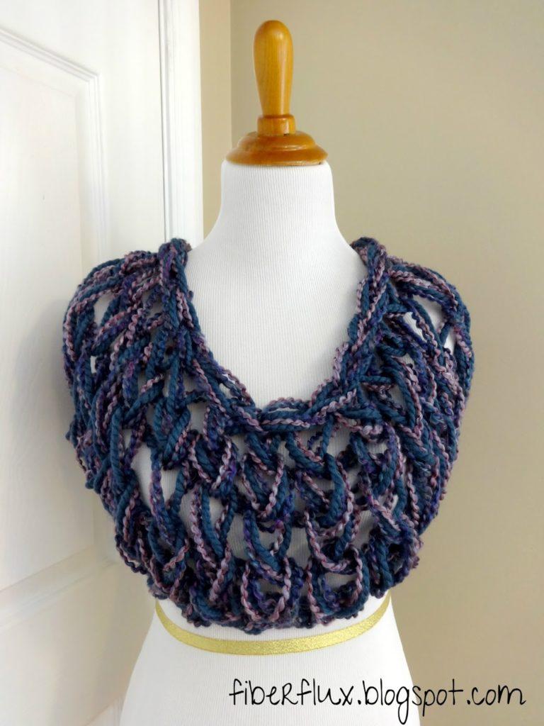 Arm knit wrap