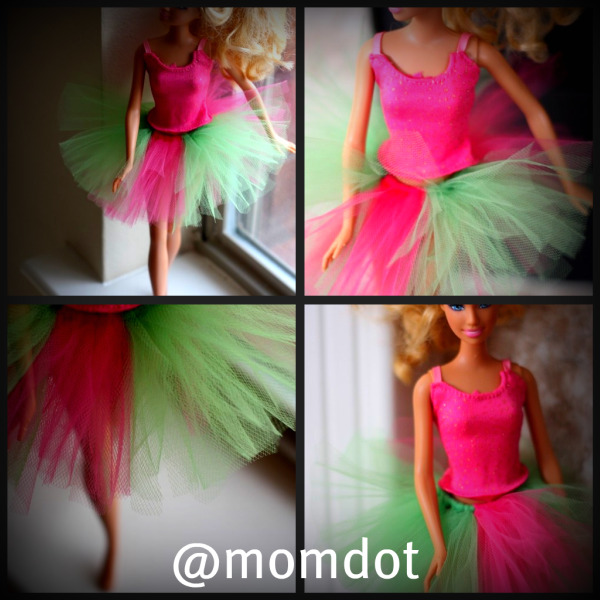 Barbie tutu diy