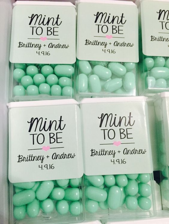 18 budget friendly diy wedding favors breath mints junglespirit Gallery