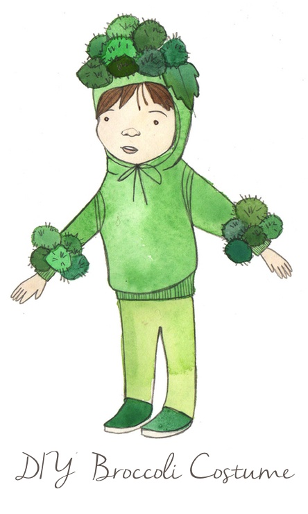 Broccoli costume diy