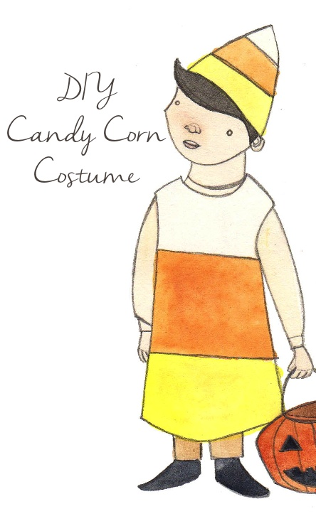 Candy corn costume diy