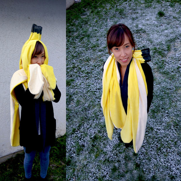 Diy banana peel costume