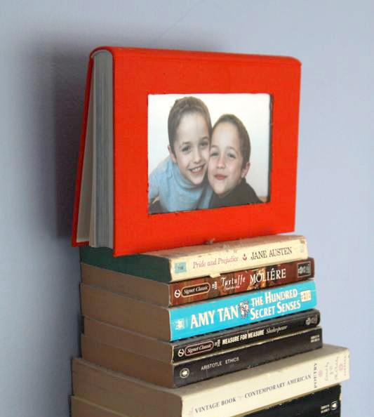 Diy book frame
