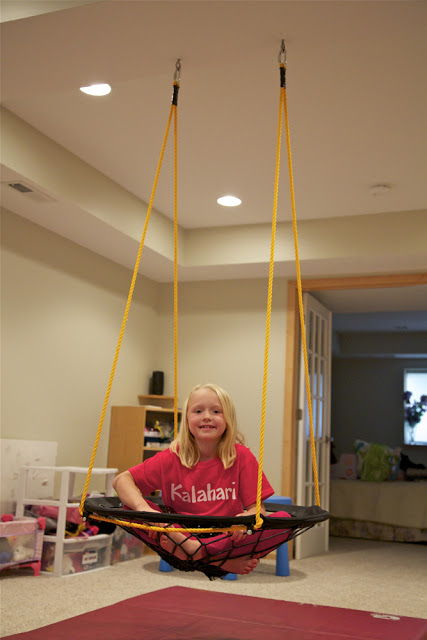 Diy bungee swing