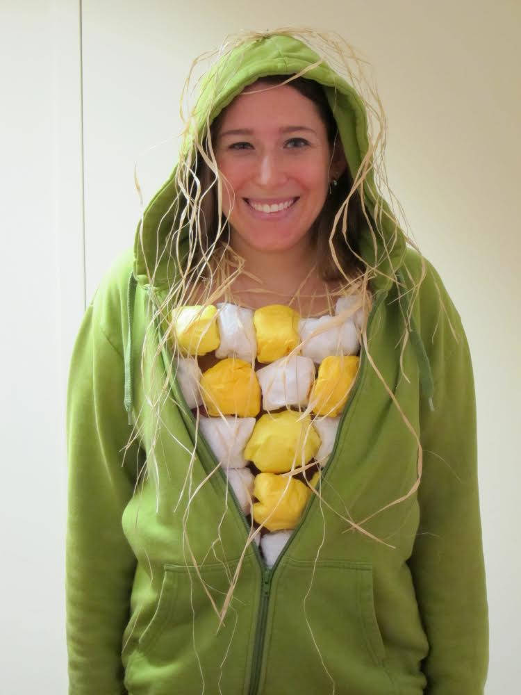 Diy corn on the cob costume