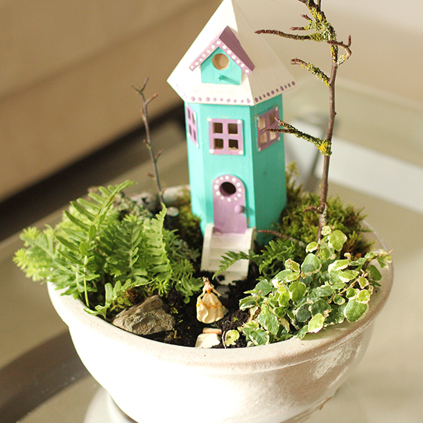 Diy fairy herb garden