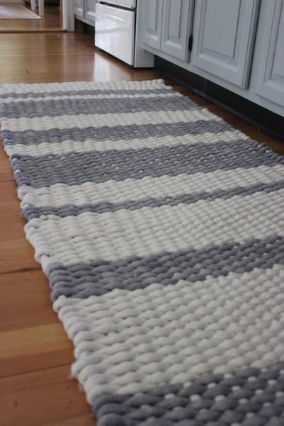 Diy loom rug