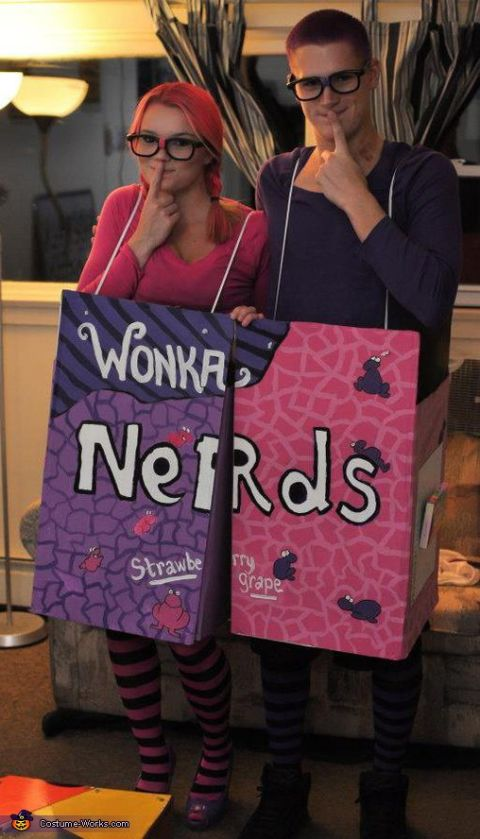 Diy nerds costume