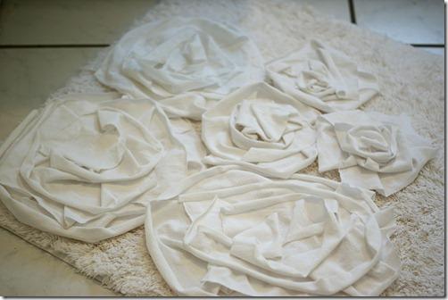 Diy rose rug
