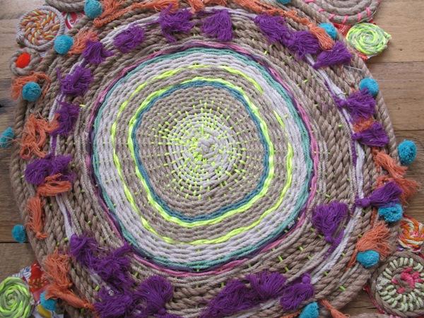 Diy tapestry rug