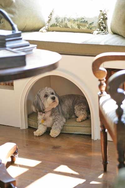 Diy window bench doghouse