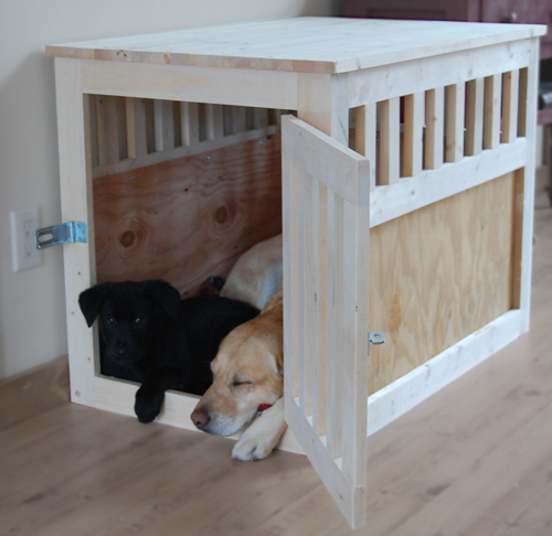 Diy wood kennel