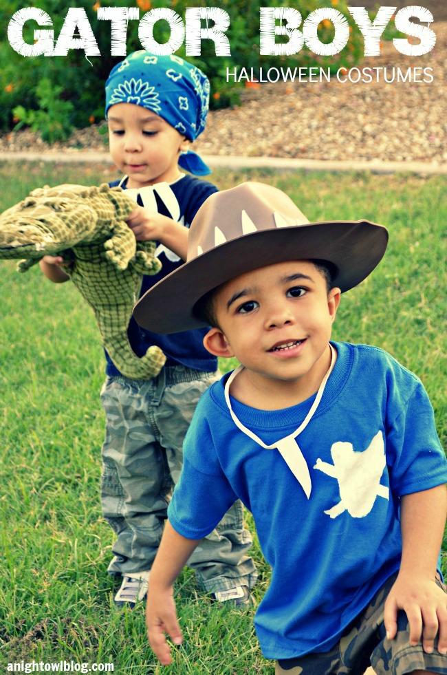 Gator boys halloween costumes 9