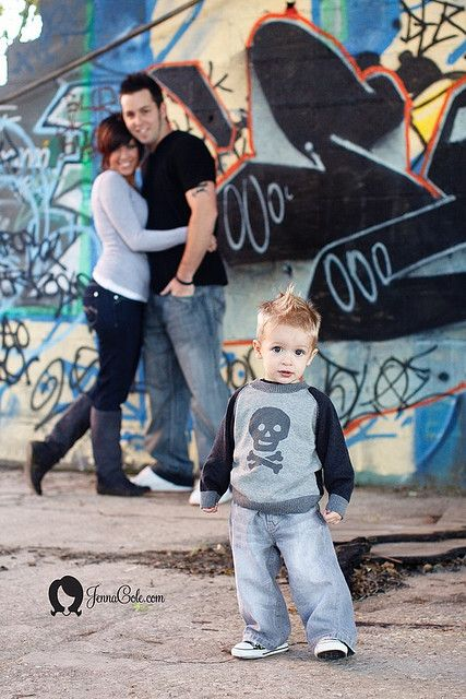 Grafitti family photoshoot