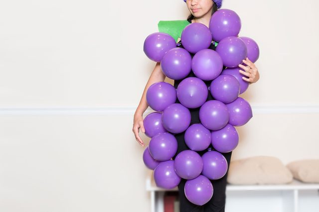 Grape diy costume
