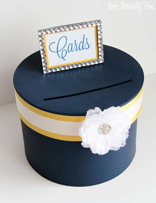 How to make wedding card box