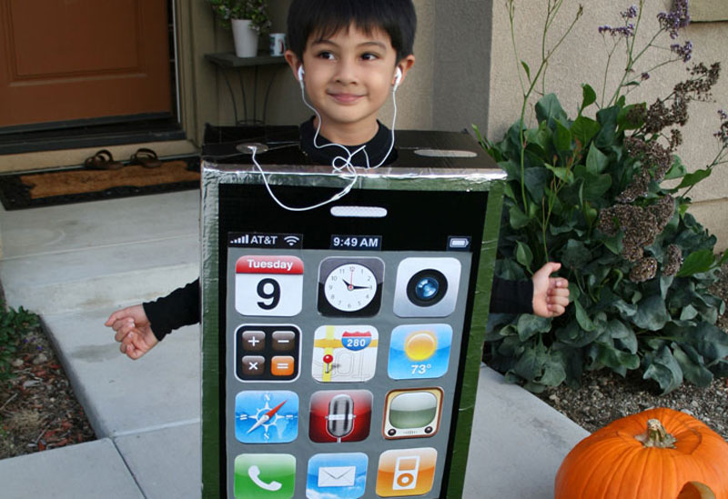 Iphone costume diy