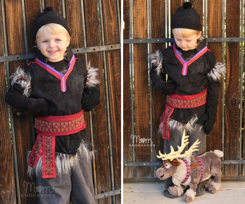 Kristoff frozen costume