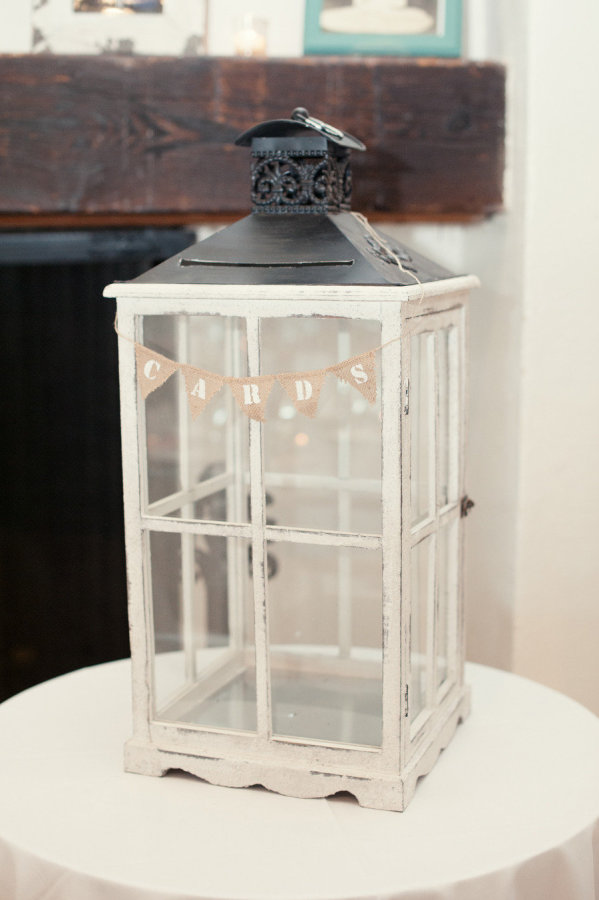 Lantern wedding card box diy