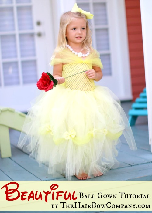 Tutu ball gown diy