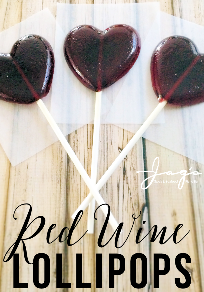 Wine lollipops pin