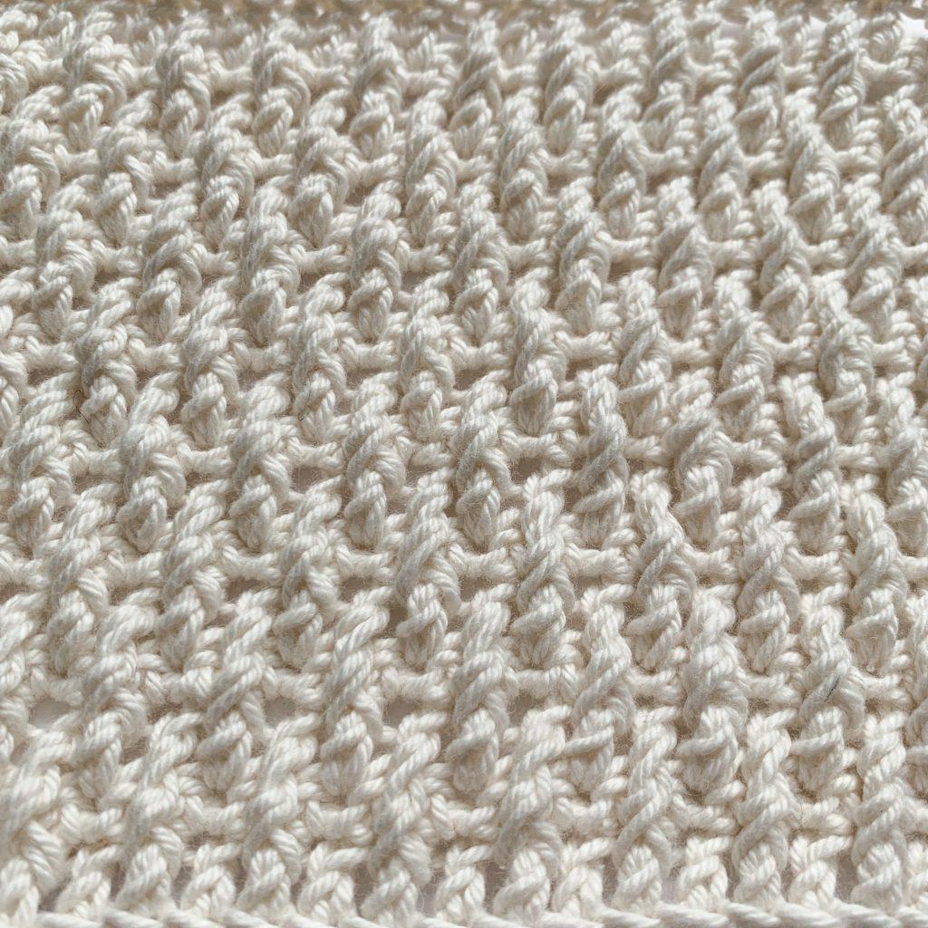 Alpine stitch