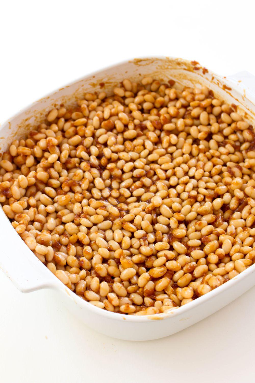 Baked beans mix beans