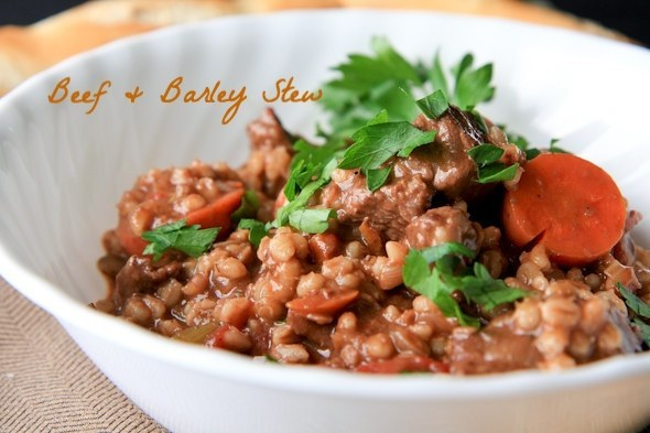 Beer and barley stew