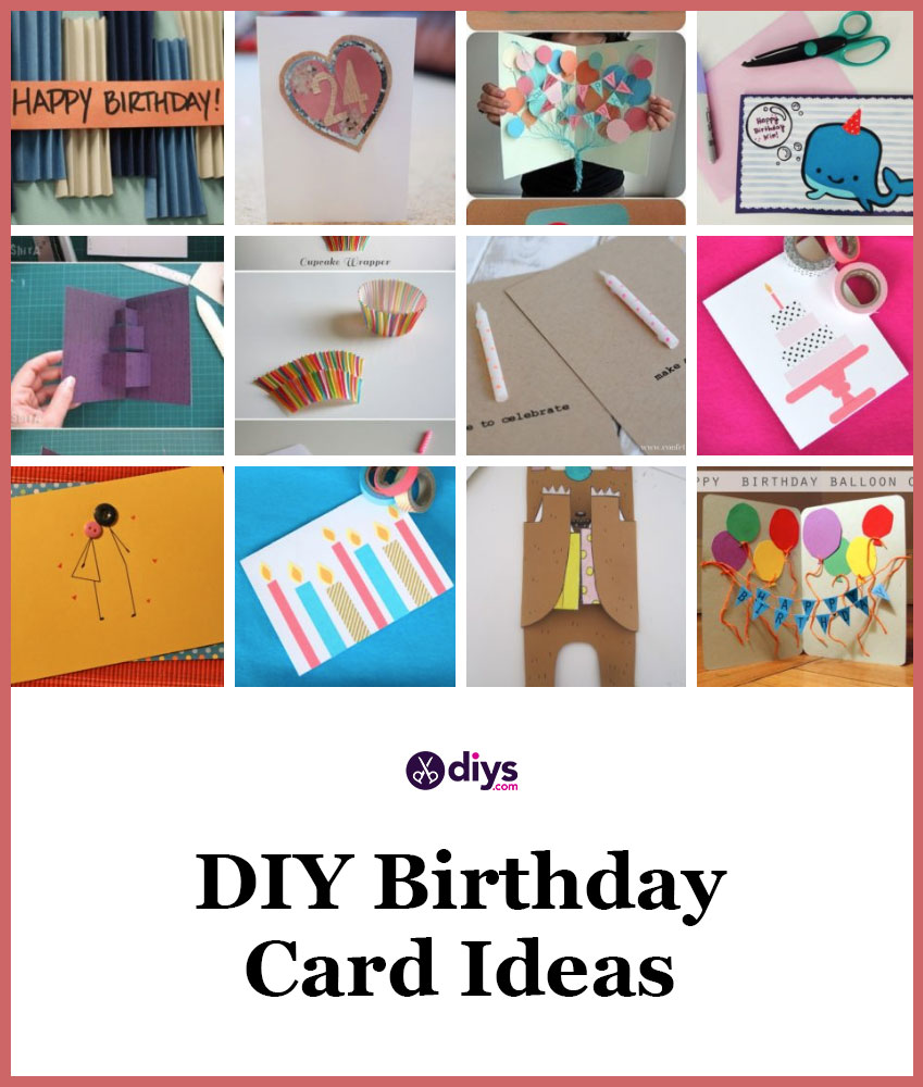 Cute Diy Birthday Card Ideas That Are Fun And Easy To Make