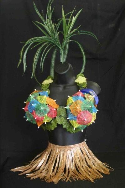 Cocktail umbrella bra