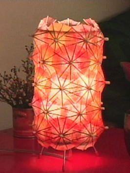 Cocktail umbrella desk lantern