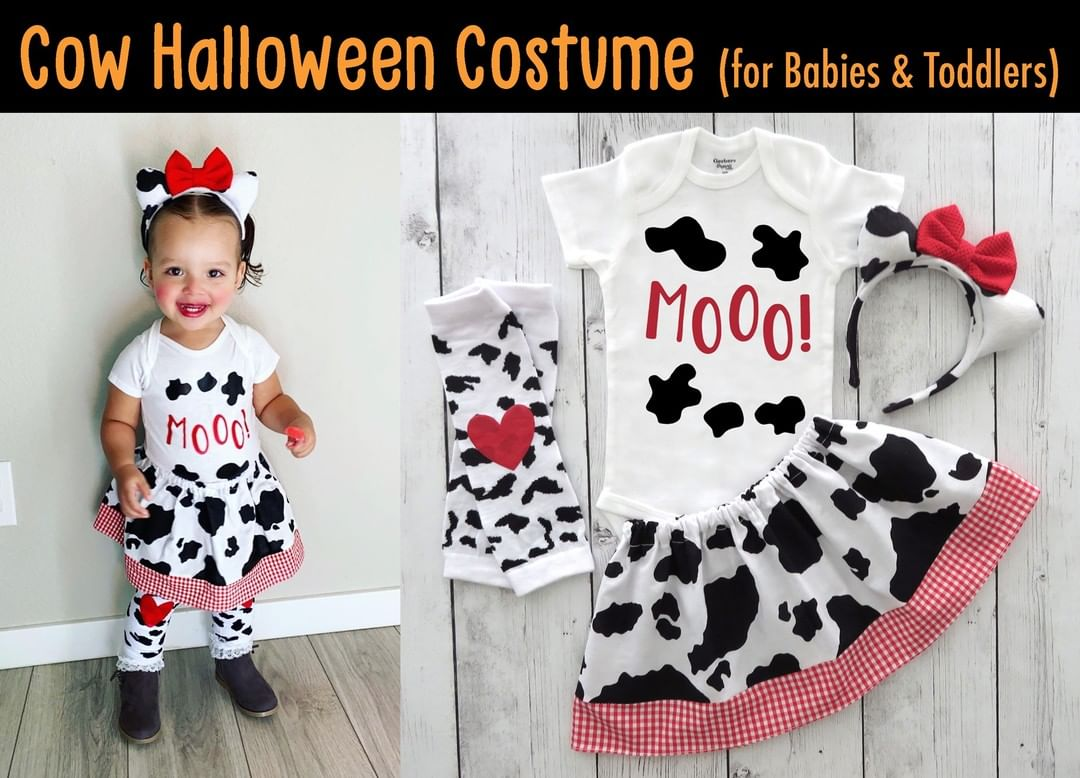 Cute toddler costumes cow